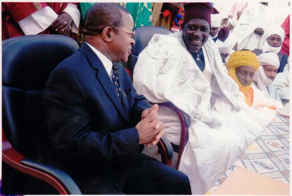 Convention entre l'UMa et le Lamidat de Maroua