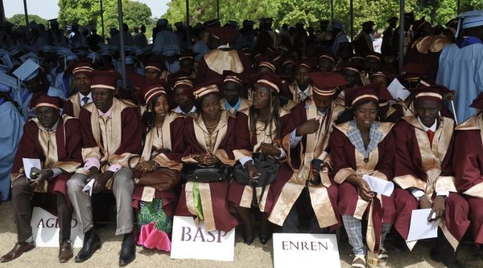 The first graduation ceremony at the Higher Institute of the Sahel