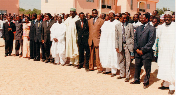 The first Staff of the University of Maroua