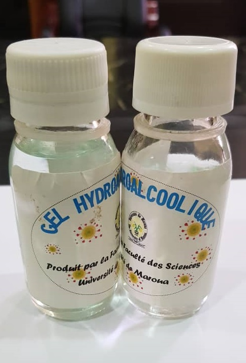 Gel Gel hydro alcoolique made in UMa