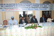 Plan Stratégique de Développement de l'Université de Maroua